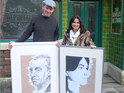 Twenty Coronation Street portraits drawn by Weatherfield's Steve Huison are going up for auction.
