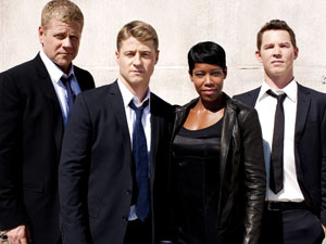 The cast of Southland