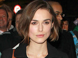 Keira Knightley leaving the Comedy Theatre in London