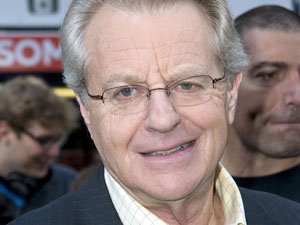 Jerry Springer - The English-born presenter is 67 on Sunday