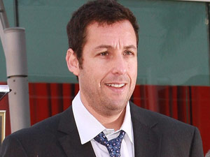 Adam Sandler is honored on the Hollywood Walk of Fame