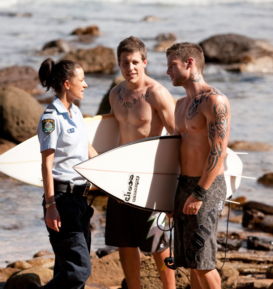 Home and Away's Steve Peacocke and Dan Ewing
