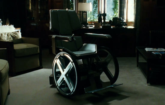 Xavier's wheelchair