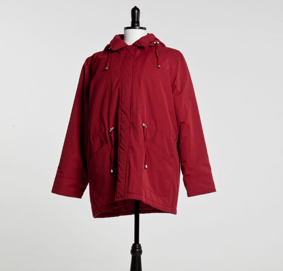 Hayley's coat from Corrie goes up for auction