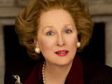 Margaret Thatcher in The Iron Lady