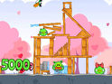Rovio Mobile updates Angry Birds Seasons to add 15 Valentine's Day themed stages.