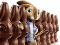 Russell Brand voices the Easter Bunny-in-waiting in lackluster family movie Hop.