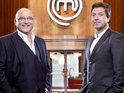 John Torode and Gregg Wallace vote off another MasterChef contestant.