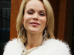 Amanda Holden - The actress and...