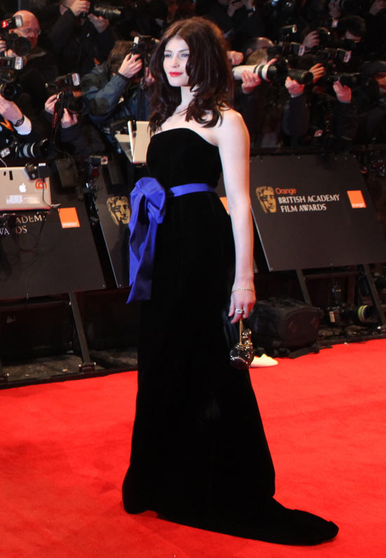 BAFTAs 2011: Red carpet