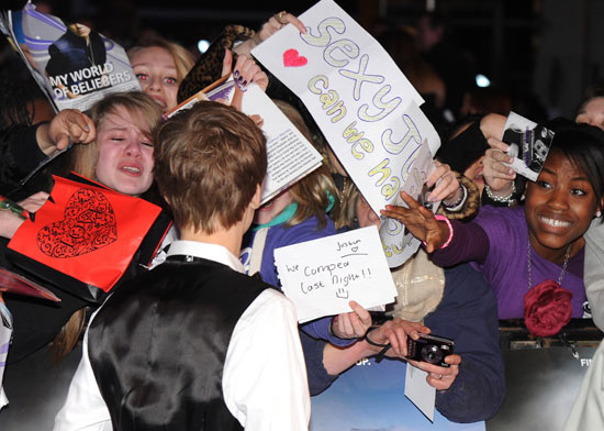There's an outbreak of Bieber Fever...
