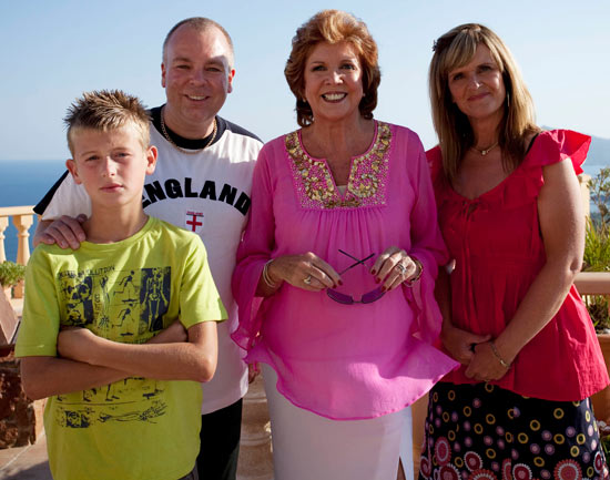The Garvey Family in Benidorm