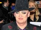 Boy George arriving at the ELLE Style Awards 2011