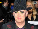 "Boy George says he is now ""in control"" of his life."