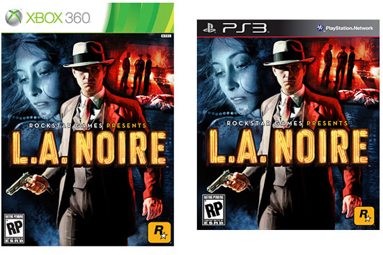 L.A. Noire Cover Art