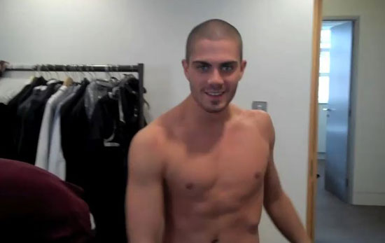 Max George from 'The Wanted'