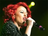 Cher Lloyd in concert for the Birmingham leg of &#39;The X Factor - Live Tour&#39;