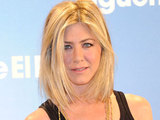 Jennifer Aniston sporting a new haircut