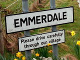 Emmerdale road sign