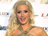 Holly Madison at Josh Strickland's single debut