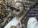 Matt Cardle complains about singing Katy Perry's 'Firework' on The X Factor.