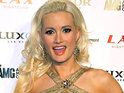 Holly Madison explains that she never expected to get pregnant so quickly.