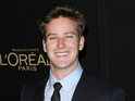 Armie Hammer will star as The Social Network's Winklevoss twins in a 2012 episode of The Simpsons.