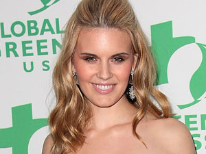Maggie Grace attends the Global Green USA's 8th Annual pre-Oscar Party