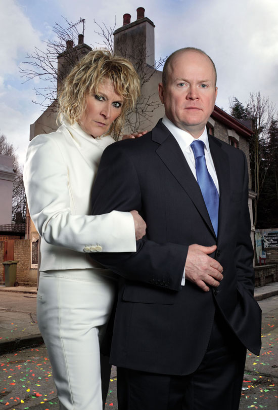 Eastenders: Phil and Shirley