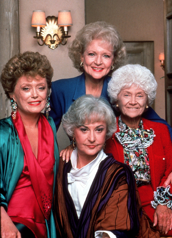 Betty in 'Golden Girls'
