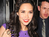Myleene Klass at the Glamour 10th Birthday Dinner at Claridges, London