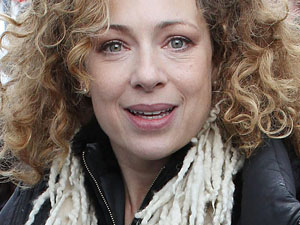Alex Kingston - The Doctor Who star celebrates her 48 birthday on Friday.