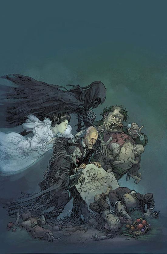 Marvel reveals 'Zombie Xmas Carol'