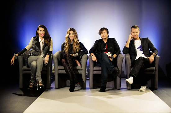 Britain's Next Top Model 2011 Judges