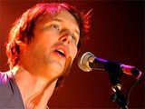 James Blunt performing live at a sold out concert in Amsterdam, Holland