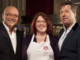 Polly Oxby on MasterChef