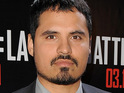 Michael Peña signs for role as the well-liked father of a murdered young boy.