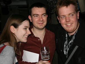 Catriona, Dan and Kris