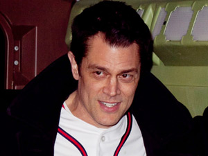 Johnny Knoxville attends Paramount Home Entertainment&#39;s &#39;Jackass 3&#39; Blu-ray and DVD launch