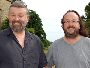 Simon King and Dave Myers aka &#39;Hairy Bikers&#39;