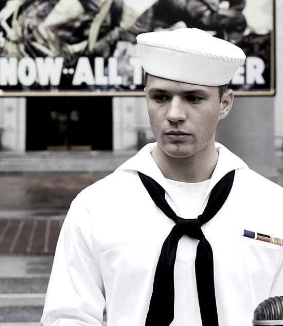 Ryan in sailor suit
