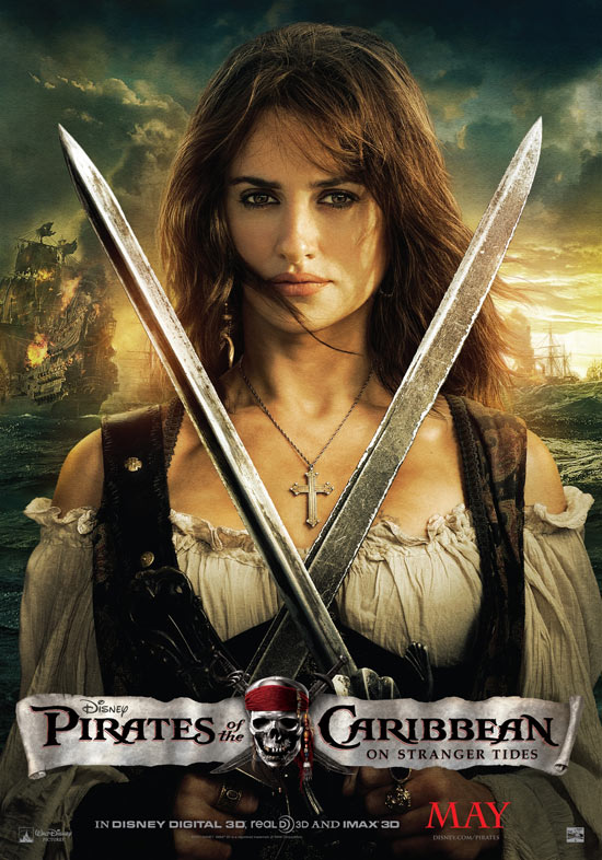 'Pirates Of The Caribbean: On Stranger Tides' Anglica