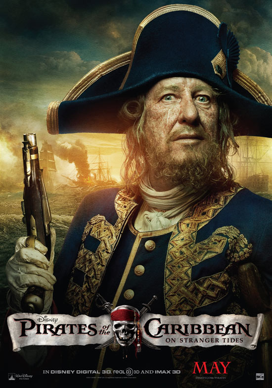 'Pirates Of The Caribbean: On Stranger Tides' Barbosa