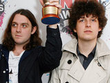 Jamie Cook and Matt Helders of Arctic Monkeys 