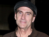 Singer-songwriter James Taylor