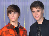 Justin Bieber attends his waxwork unveiling at Madame Tussauds, London