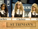 Tamsin Egerton says that she is keen to star in a third St. Trinian's movie.