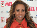 Mel B flies into Sydney to start filming the next series of the Australian version of The X Factor.