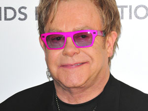 Sir Elton John - The musician is 64 on Friday.