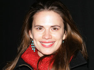 Actress Hayley Atwell